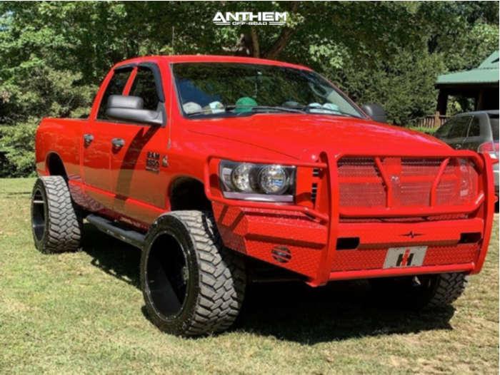 1 2007 Ram 2500 Dodge 2 Inch Level Leveling Kit Anthem Off Road Equalizer Black