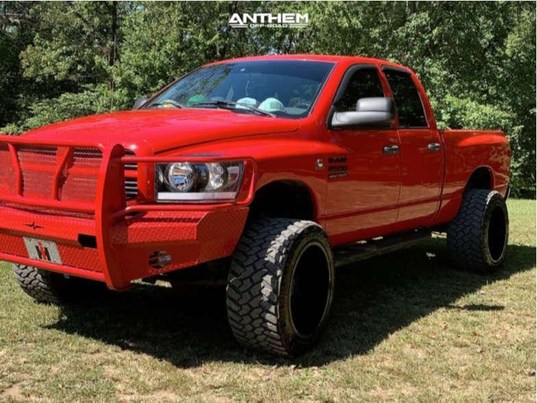 13 2007 Ram 2500 Dodge 2 Inch Level Leveling Kit Anthem Off Road Equalizer Black