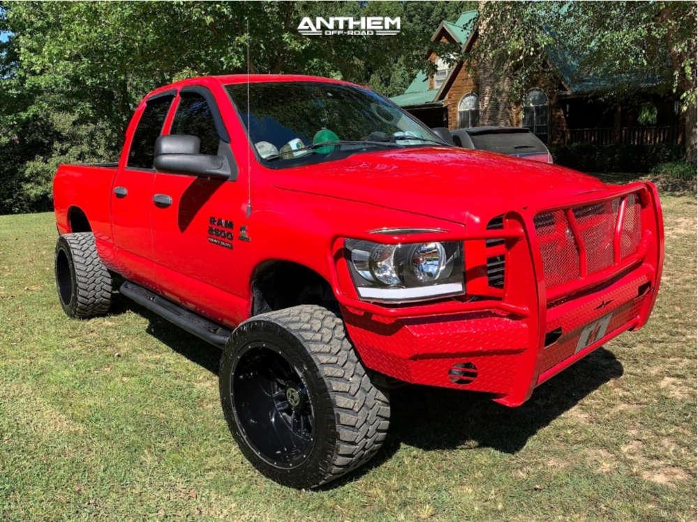 16 2007 Ram 2500 Dodge 2 Inch Level Leveling Kit Anthem Off Road Equalizer Black