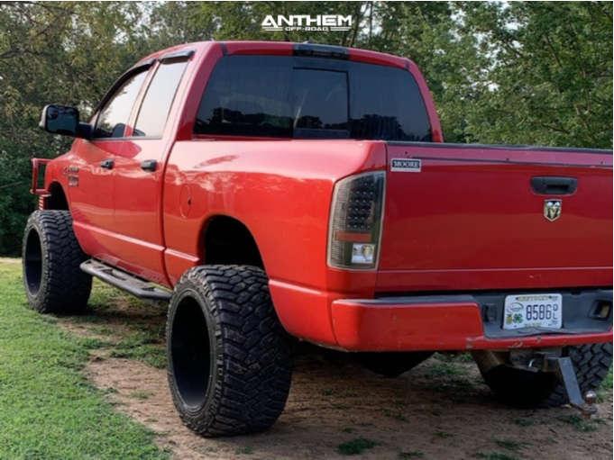 4 2007 Ram 2500 Dodge 2 Inch Level Leveling Kit Anthem Off Road Equalizer Black
