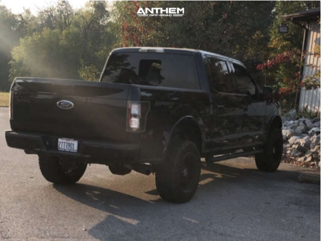 4 2017 F 150 Ford Readylift Suspension Lift 35in Anthem Off Road Equalizer Black