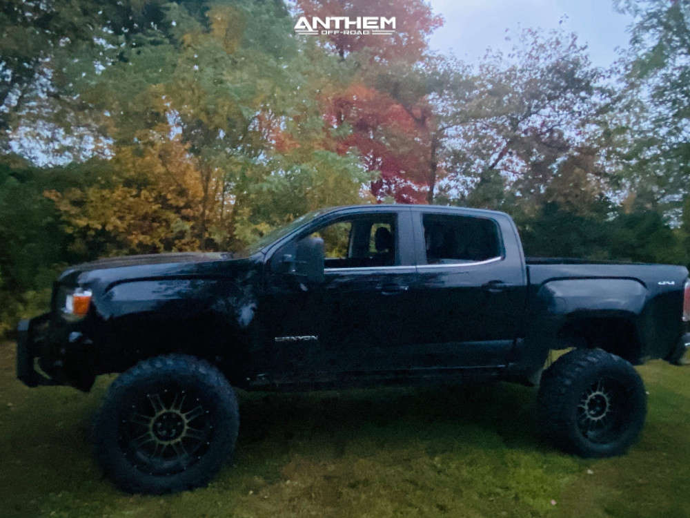 5 2019 Canyon Gmc Zone Suspension Lift 8in Anthem Off Road Equalizer Machined