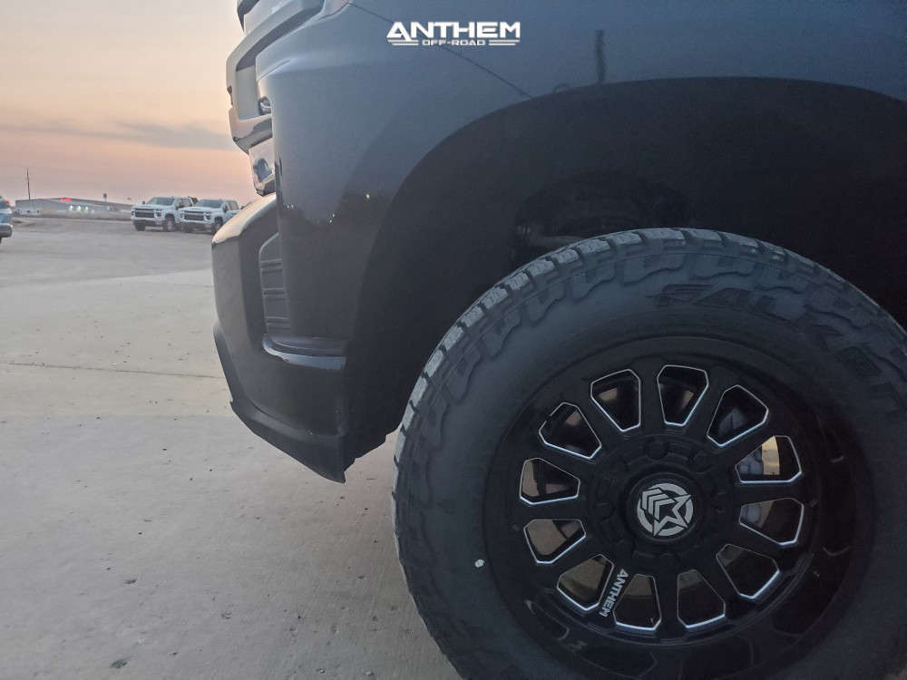 5 2019 Silverado 1500 Chevrolet Motofab Leveling Kit Anthem Off Road Intimidator Machined Accents