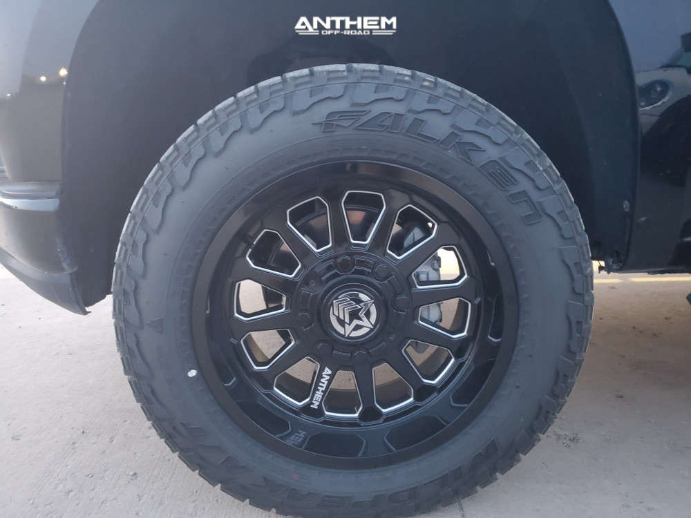 8 2019 Silverado 1500 Chevrolet Motofab Leveling Kit Anthem Off Road Intimidator Machined Accents