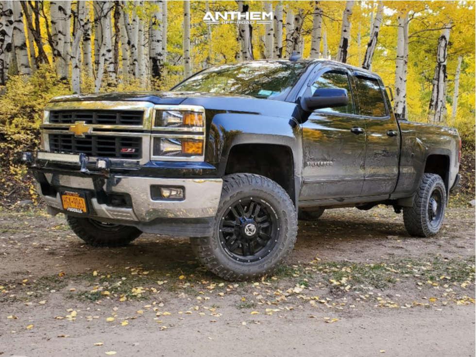 1 2015 Silverado 1500 Chevrolet Zone Suspension Lift 45in Anthem Off Road Equalizer Black