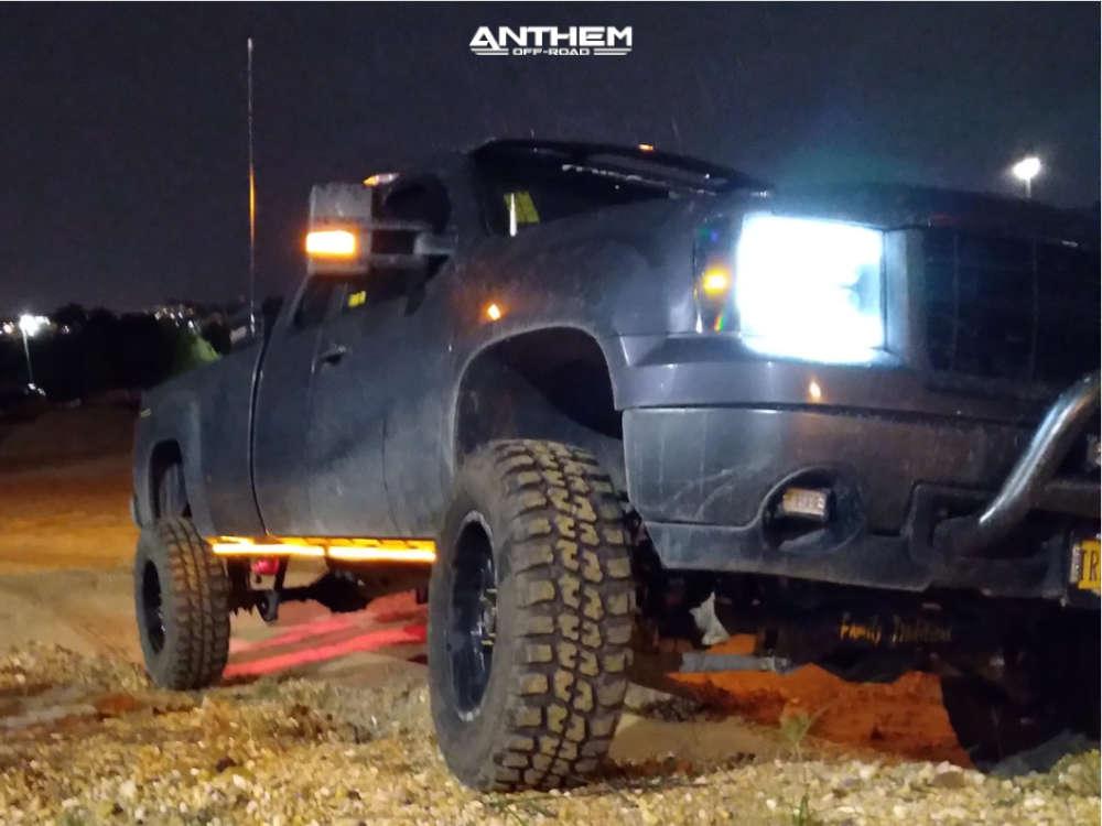 15 2011 Sierra 1500 Gmc Superlift Suspension Lift 10in Anthem Off Road Intimidator Machined Black
