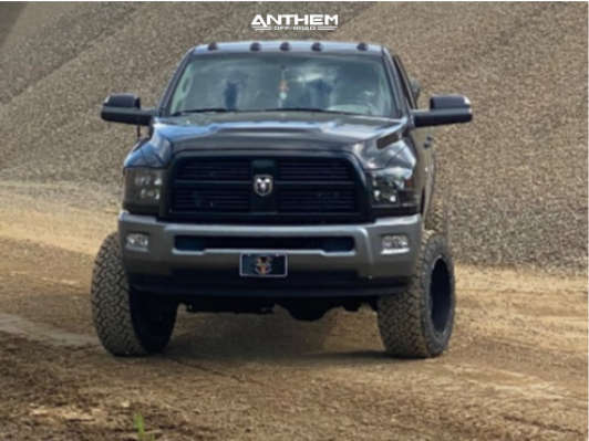 1 2010 Ram 2500 Dodge Rough Country Suspension Lift 5in Anthem Off Road Avenger Black