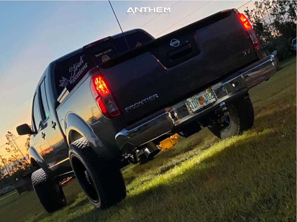 3 2019 Frontier Nissan Cst Suspension Lift 7in Anthem Off Road Instigator Machined Accents