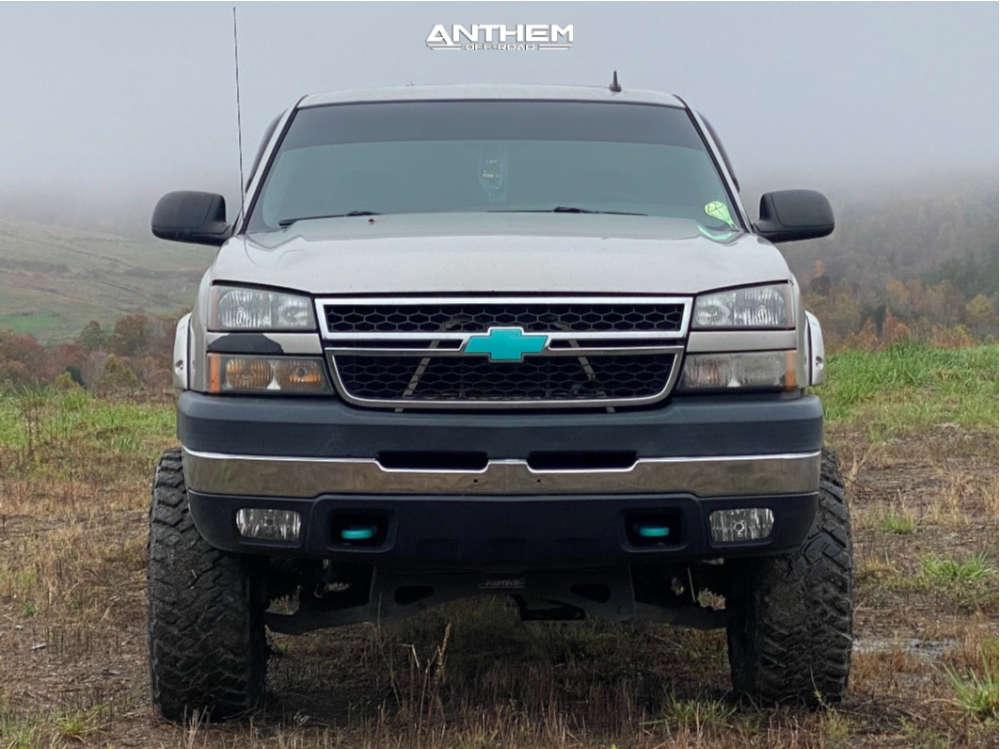 2 2006 Silverado 2500 Hd Chevrolet Fabtech Suspension Lift 65in Anthem Off Road Intimidator Black