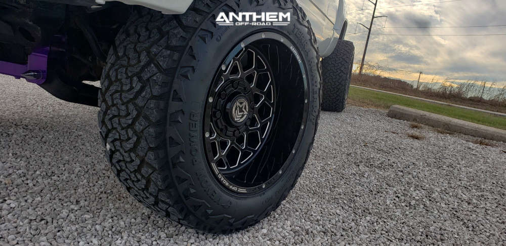 8 1997 K1500 Chevrolet Rough Country Suspension Lift 6in Anthem Off Road Avenger Machined Accents