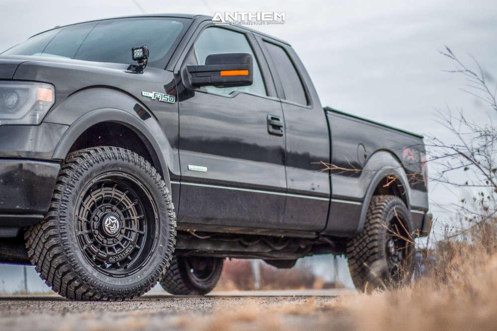1 2014 F 150 Ford Stock Air Suspension Anthem Off Road Viper Black