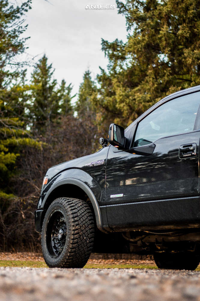 11 2014 F 150 Ford Stock Air Suspension Anthem Off Road Viper Black