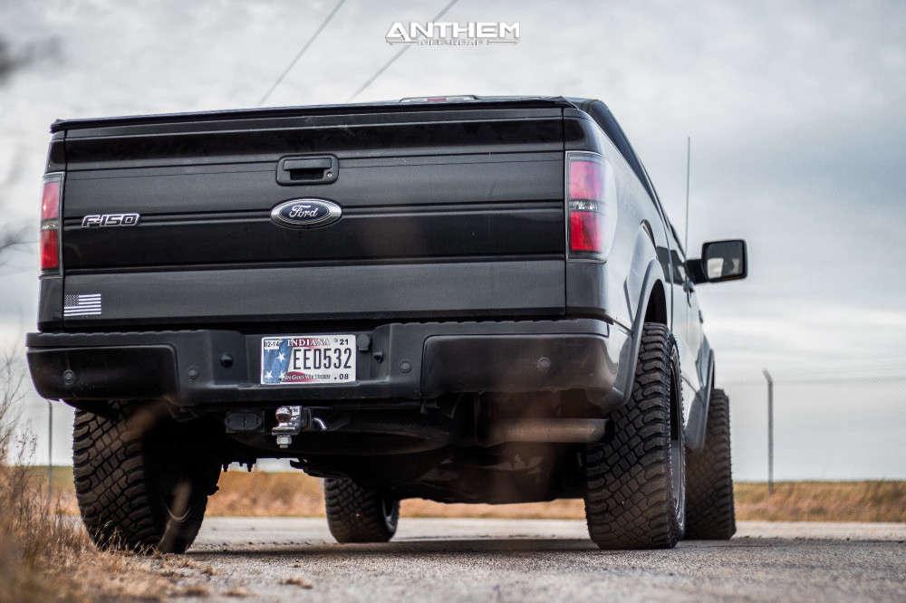 3 2014 F 150 Ford Stock Air Suspension Anthem Off Road Viper Black