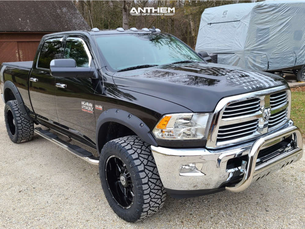 1 2018 2500 Ram Stock Air Suspension Anthem Off Road Equalizer Machined Accents
