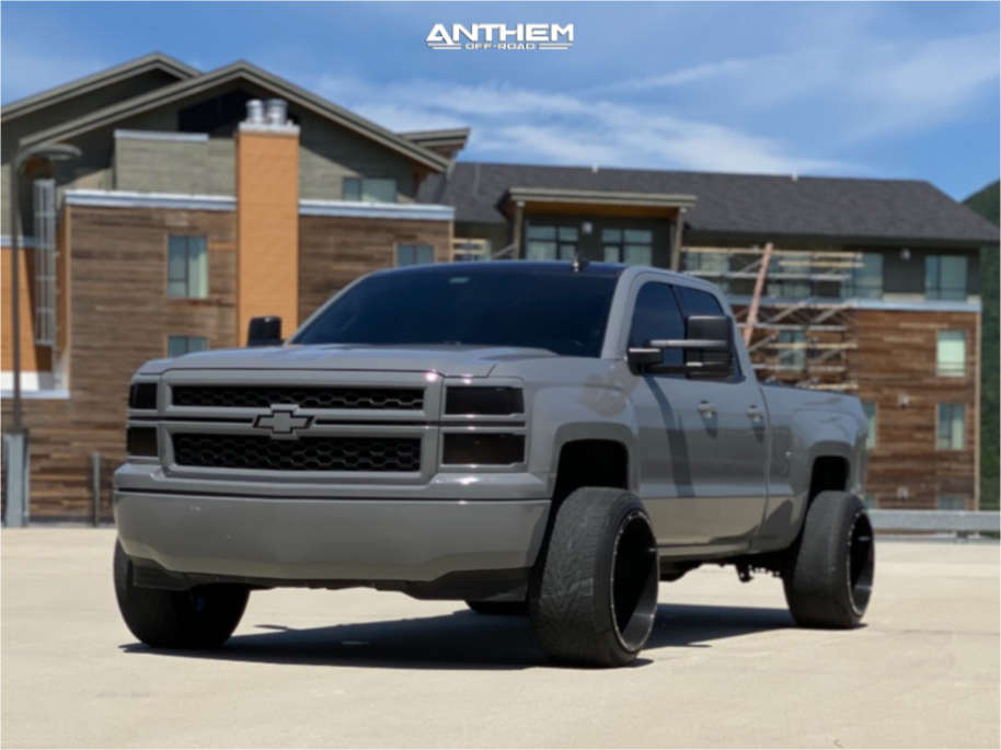 1 2015 Silverado 1500 Chevrolet 2 Inch Level Leveling Kit Anthem Off Road Equalizer Black