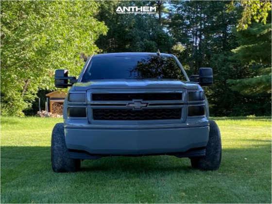 2 2015 Silverado 1500 Chevrolet 2 Inch Level Leveling Kit Anthem Off Road Equalizer Black