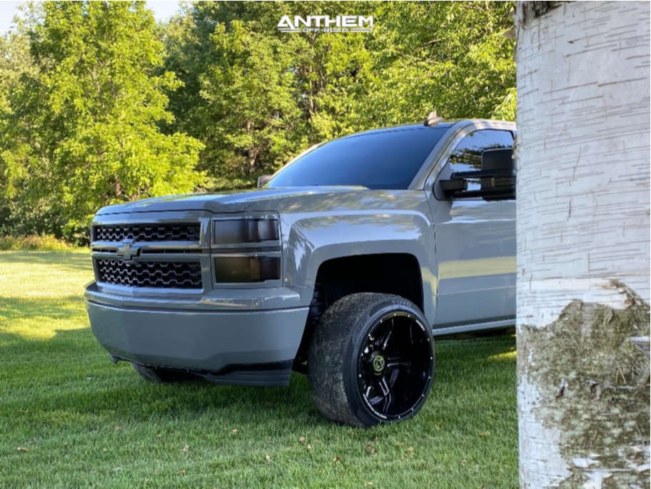 5 2015 Silverado 1500 Chevrolet 2 Inch Level Leveling Kit Anthem Off Road Equalizer Black