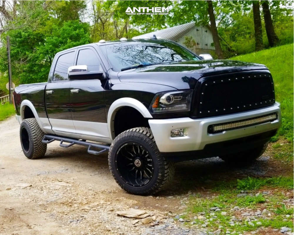 13 2015 2500 Ram Readylift Suspension Lift 3in Anthem Off Road Equalizer Machined Accents