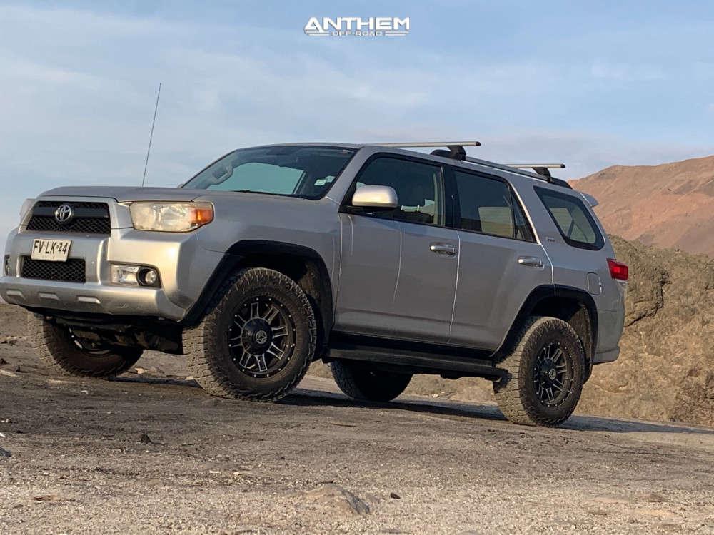 1 2013 4runner Toyota 2 Inch Level Leveling Kit Anthem Off Road Equalizer Black
