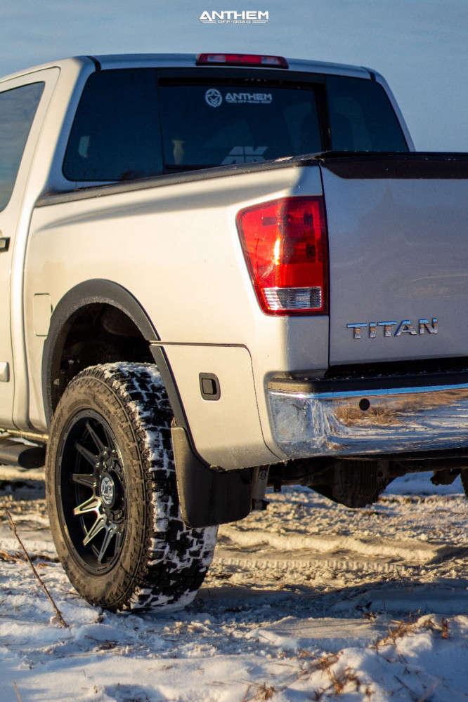 3 2015 Titan Nissan Superlift Suspension Lift 3in Anthem Off Road Liberty Matte Black