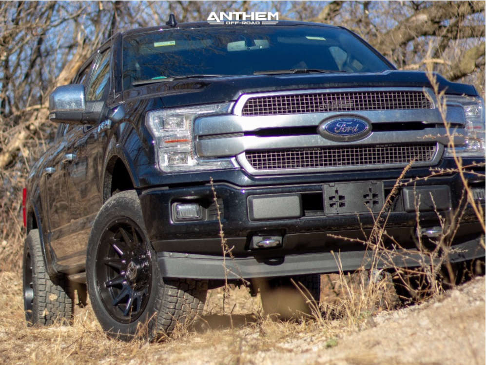 1 2019 F 150 Ford 2 Inch Level Leveling Kit Anthem Off Road Liberty Black