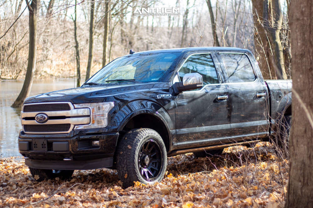4 2019 F 150 Ford 2 Inch Level Leveling Kit Anthem Off Road Liberty Black