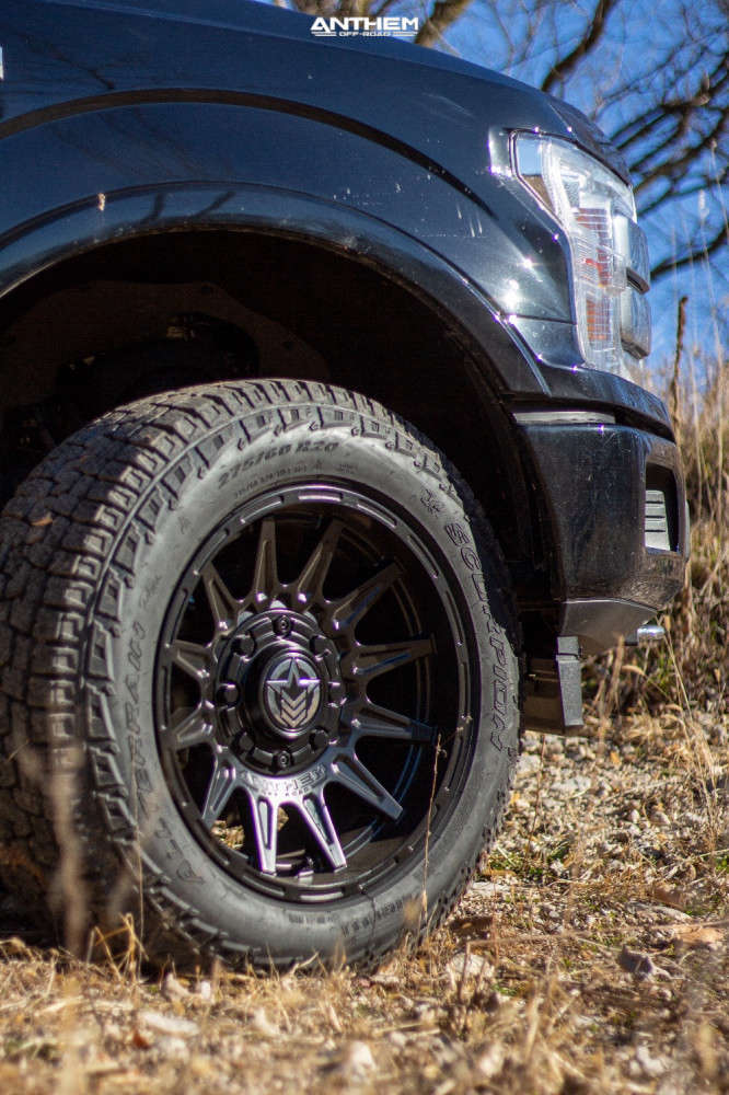 8 2019 F 150 Ford 2 Inch Level Leveling Kit Anthem Off Road Liberty Black