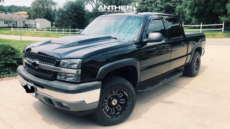 1 2005 Silverado 1500 Chevrolet Rough Country Leveling Kit Anthem Off Road Enforcer Black