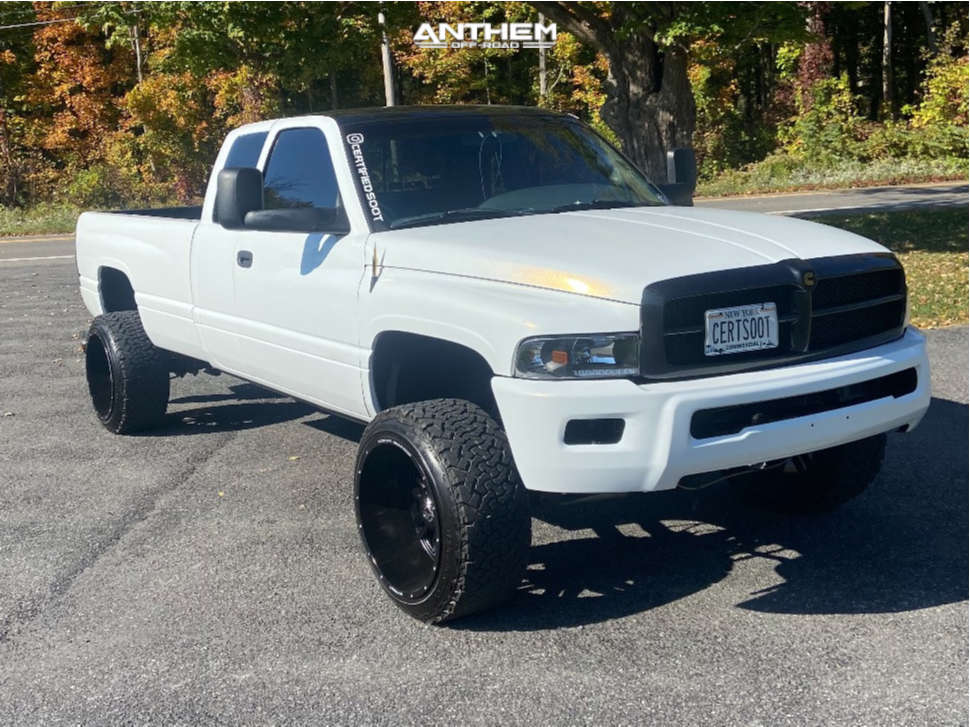 1 1998 Ram 2500 Dodge Rough Country Leveling Kit Anthem Off Road Equalizer Matte Black