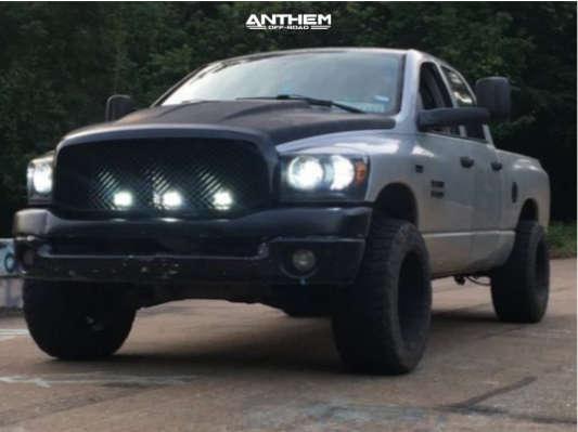 2 2008 Ram 1500 Dodge 3 Inch Level Leveling Kit Anthem Off Road Gunner Black