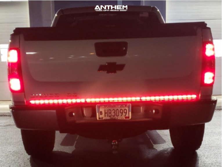 3 2010 Silverado 1500 Chevrolet Rough Country Suspension Lift 25in Anthem Off Road Aviator Black