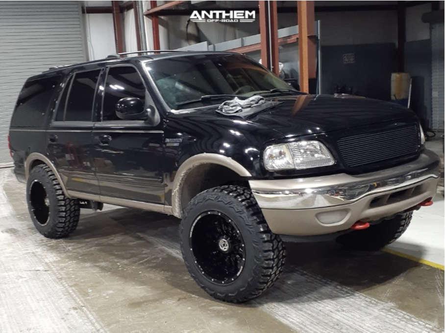 1 2001 Expedition Ford 3 Inch Level Leveling Kit Anthem Off Road Equalizer Black