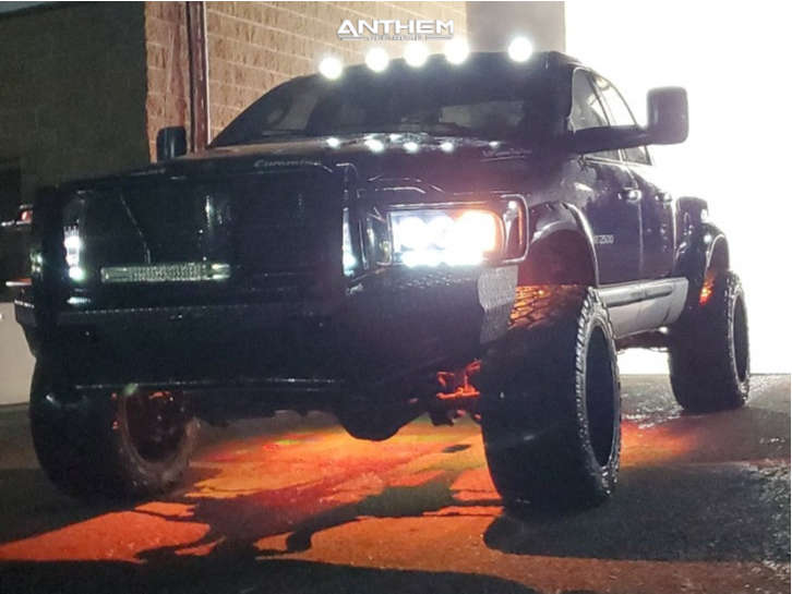 13 2003 Ram 2500 Dodge Rough Country Leveling Kit Anthem Off Road Equalizer Black