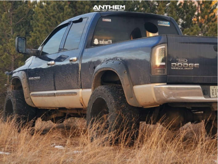 3 2003 Ram 2500 Dodge Rough Country Leveling Kit Anthem Off Road Equalizer Black