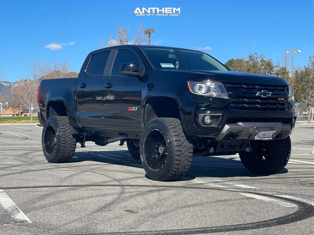 Truck on air suspension