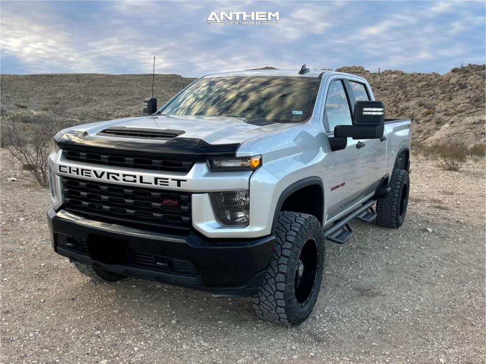 14 2020 Silverado 2500 Hd Chevrolet Zone Suspension Lift 3in Anthem Off Road Equalizer Black