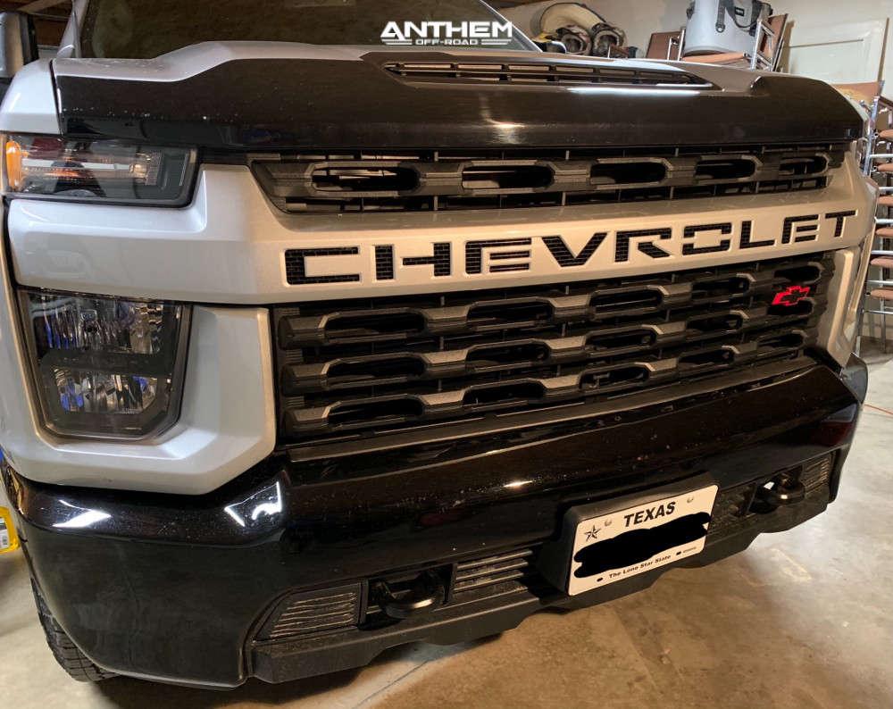2 2020 Silverado 2500 Hd Chevrolet Zone Suspension Lift 3in Anthem Off Road Equalizer Black