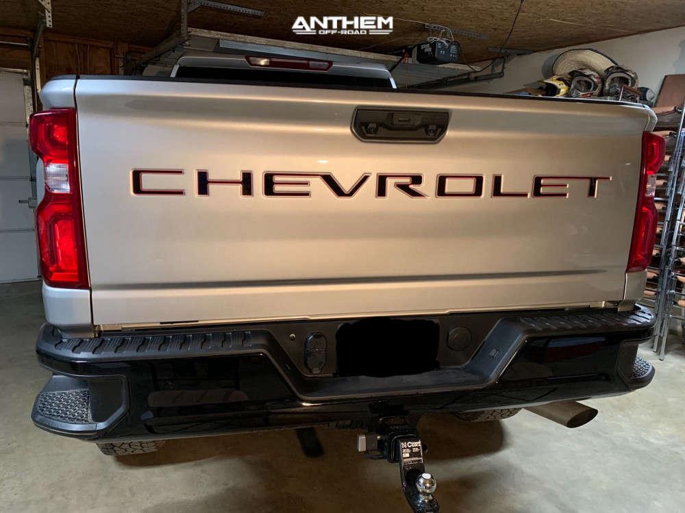 3 2020 Silverado 2500 Hd Chevrolet Zone Suspension Lift 3in Anthem Off Road Equalizer Black