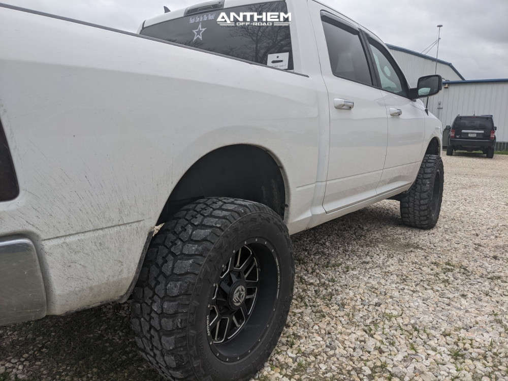 2 2016 1500 Ram Zone Suspension Lift 4in Anthem Off Road Gunner Machined Accents