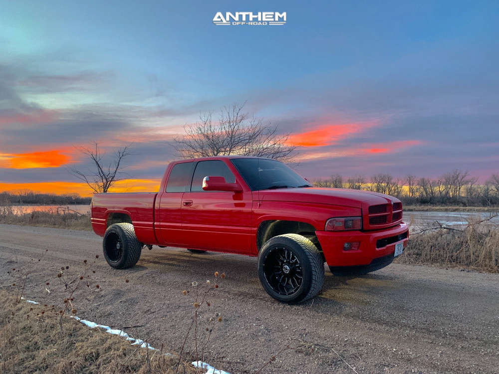 13 2001 Ram 1500 Dodge 2 Inch Level Leveling Kit Anthem Off Road Equalizer Machined Accents