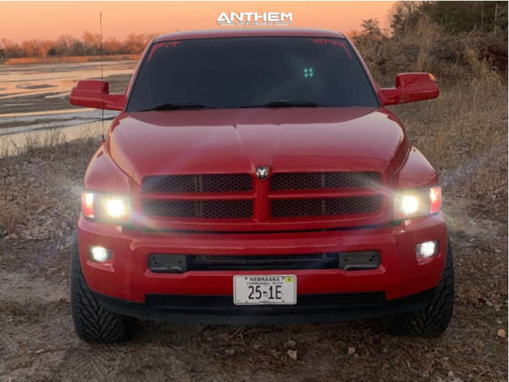 2 2001 Ram 1500 Dodge 2 Inch Level Leveling Kit Anthem Off Road Equalizer Machined Accents