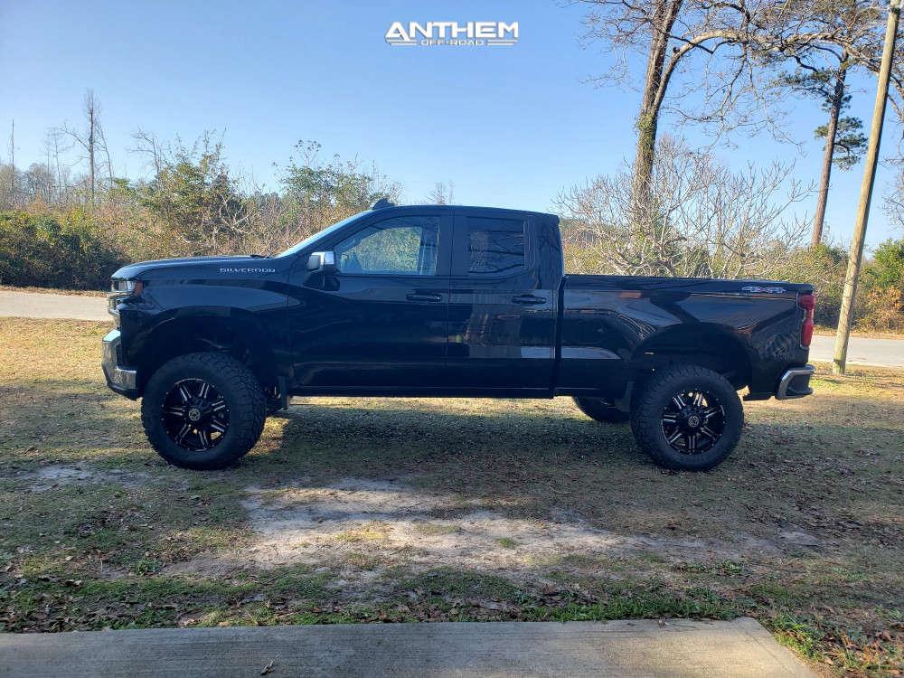 12 2020 Silverado 1500 Chevrolet Readylift Suspension Lift 6in Anthem Off Road Equalizer Black