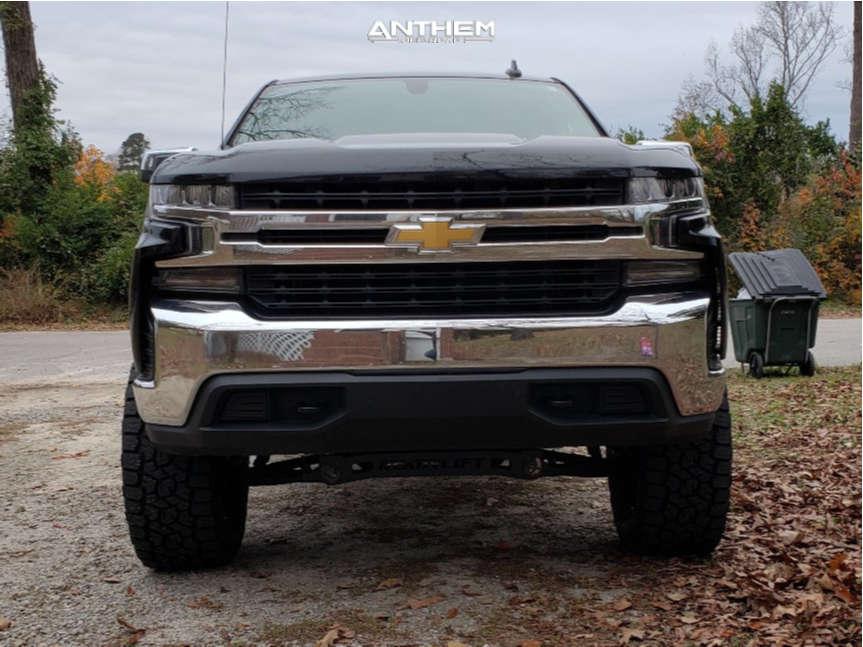2 2020 Silverado 1500 Chevrolet Readylift Suspension Lift 6in Anthem Off Road Equalizer Black
