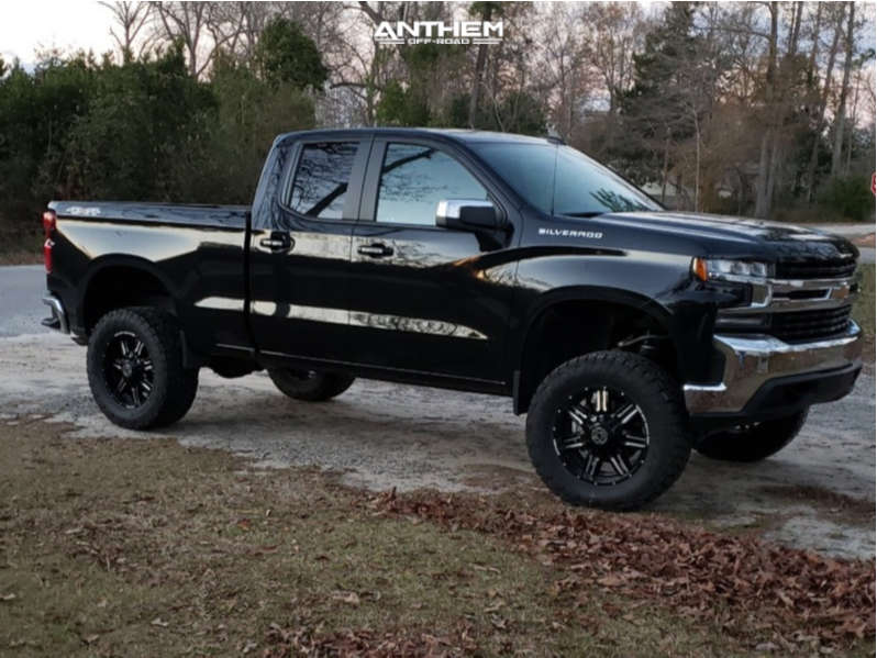 1 2020 Silverado 1500 Chevrolet Readylift Suspension Lift 6in Anthem Off Road Equalizer Machined Black