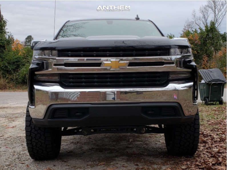 2 2020 Silverado 1500 Chevrolet Readylift Suspension Lift 6in Anthem Off Road Equalizer Machined Black