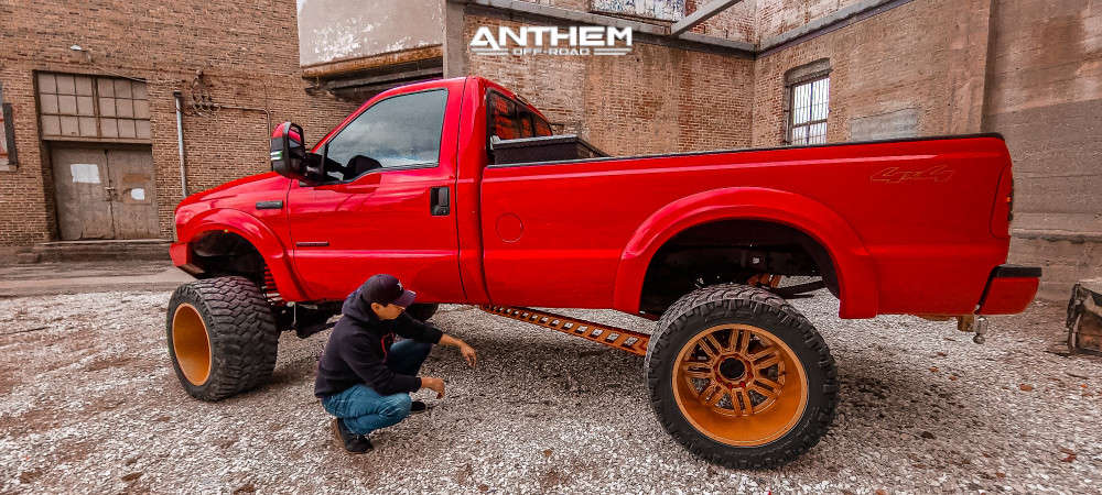 12 2006 F 250 Super Duty Ford Rough Country Suspension Lift 6in Anthem Off Road Equalizer Bronze
