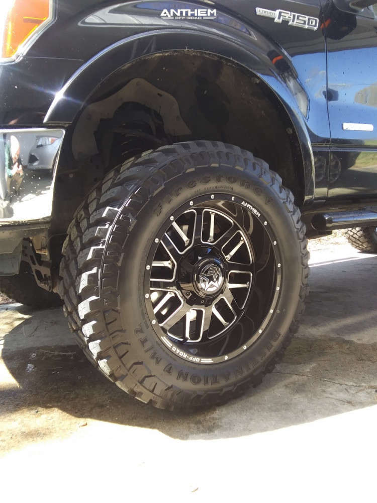 8 2013 F 150 Ford Rough Country Suspension Lift 6in Anthem Off Road Gunner Black