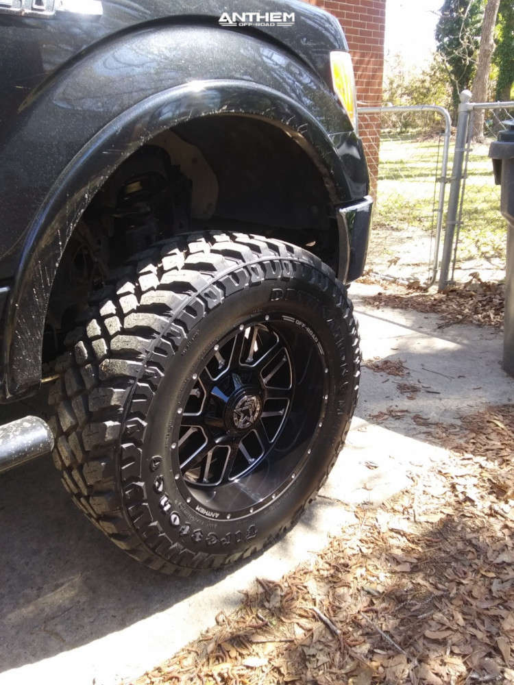 9 2013 F 150 Ford Rough Country Suspension Lift 6in Anthem Off Road Gunner Black