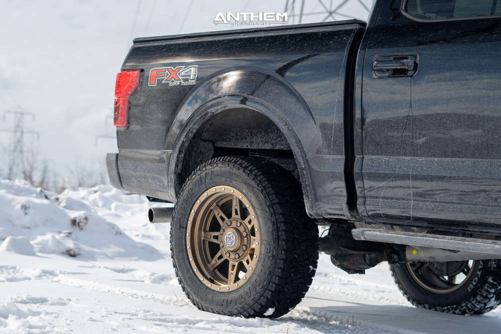 10 2018 F 150 Ford Superlift Suspension Lift 6in Anthem Off Road Rogue Bronze