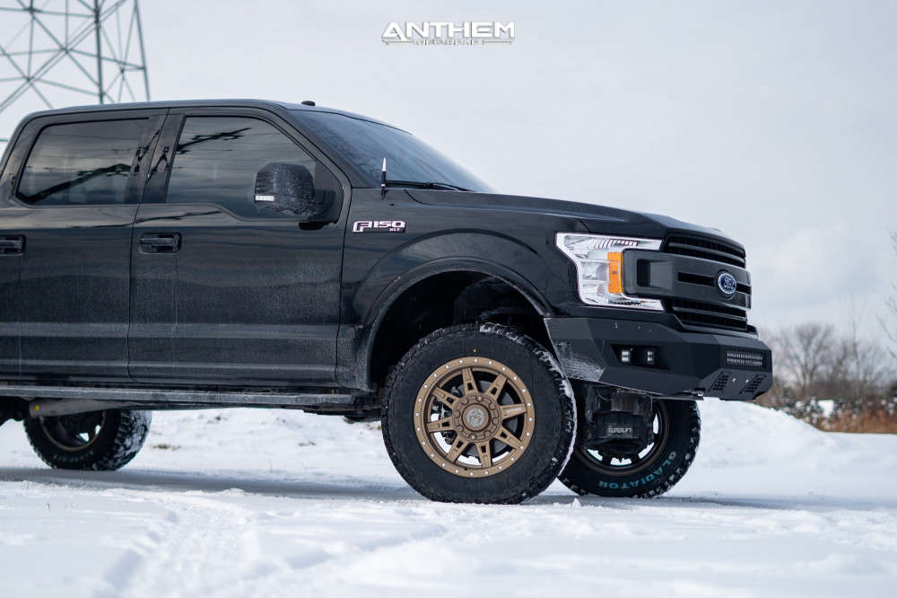 2 2018 F 150 Ford Superlift Suspension Lift 6in Anthem Off Road Rogue Bronze